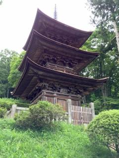 大法寺三重塔