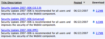 Security Update 2007-006