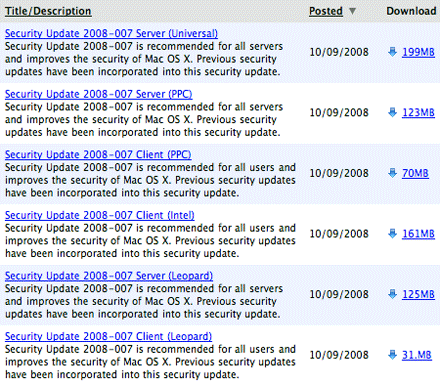 Security Update 2008-007