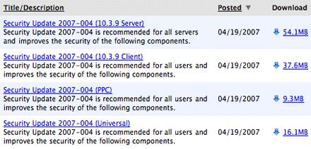 Security Update 2007-004
